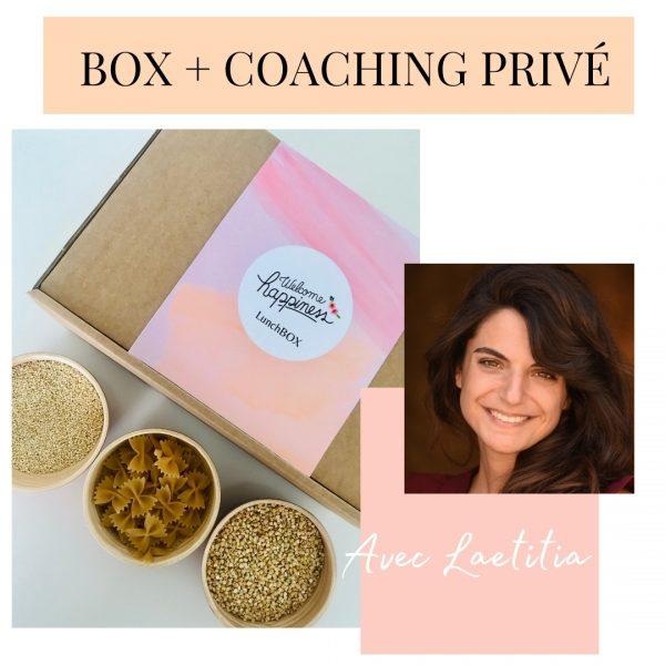 box + coaching privé avec Laetitia CAURIAND WELCOME HAPPINESS